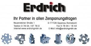 Erdrich mit Adresse und Teilen - neu